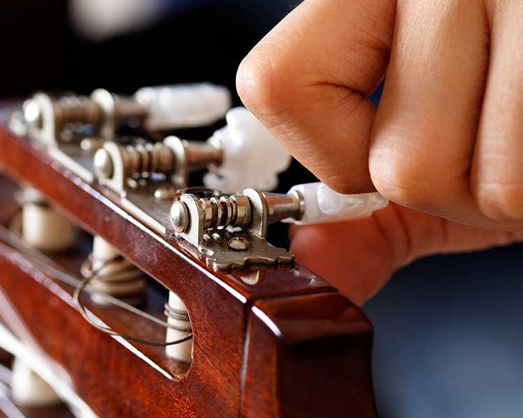 Настройка гитары. Как настроить гитару самостоятельно?