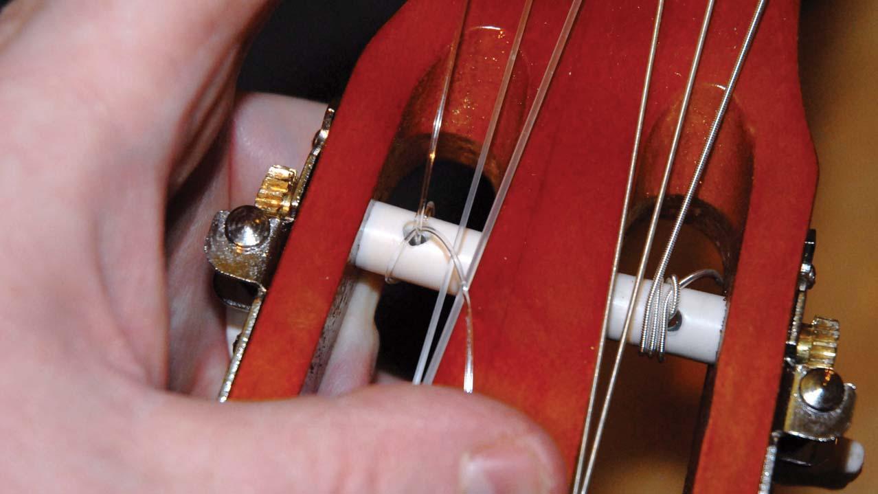Как сделать струны на гитару своими руками 53