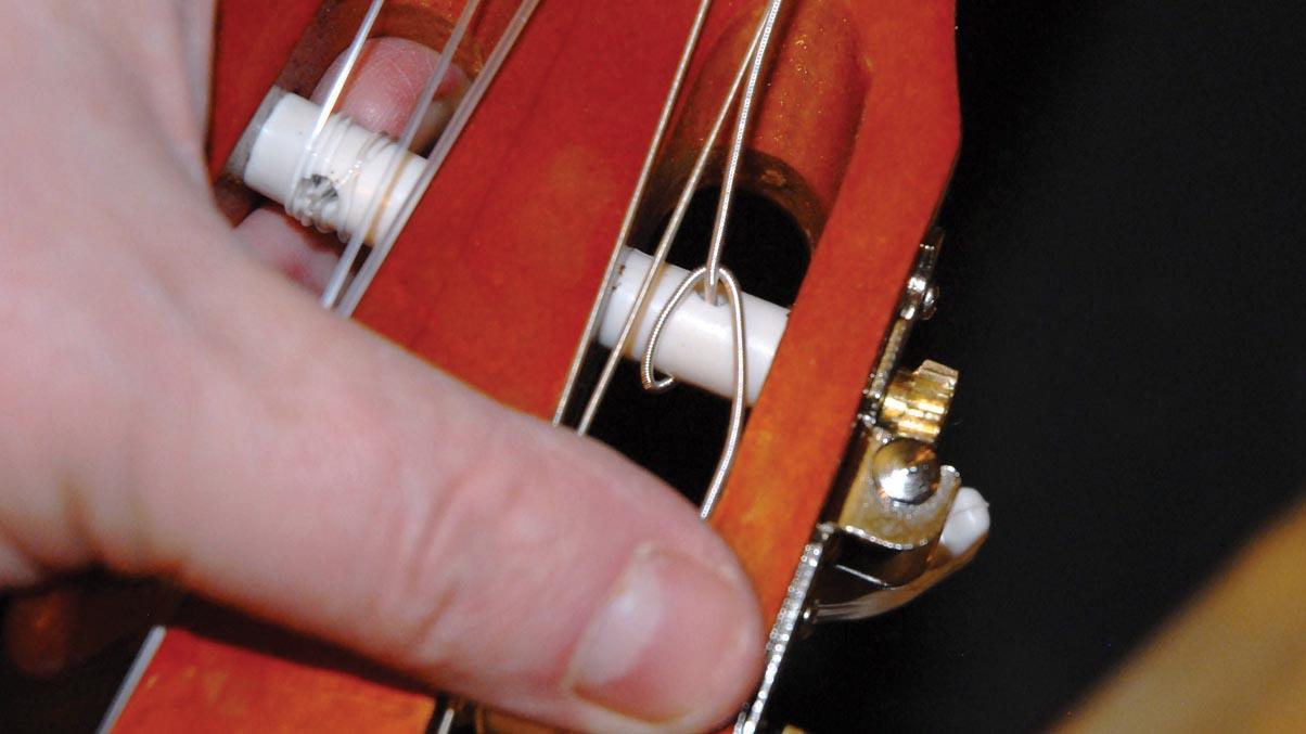 Как сделать струны на гитару своими руками 49