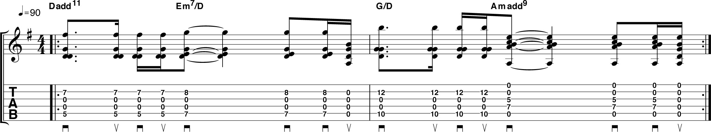 mid-neck-chords