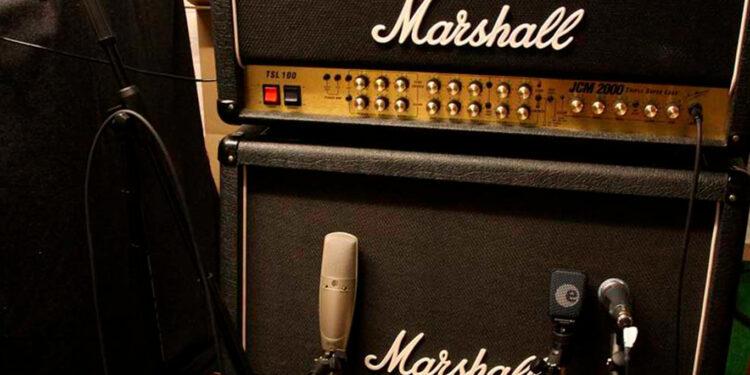 запись электрогитары через кабинет