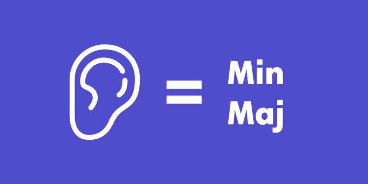Как различать минорные и мажорные аккорды на слух