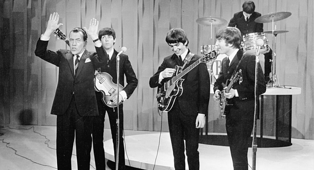 The Beatles на Ed Sullivan Show