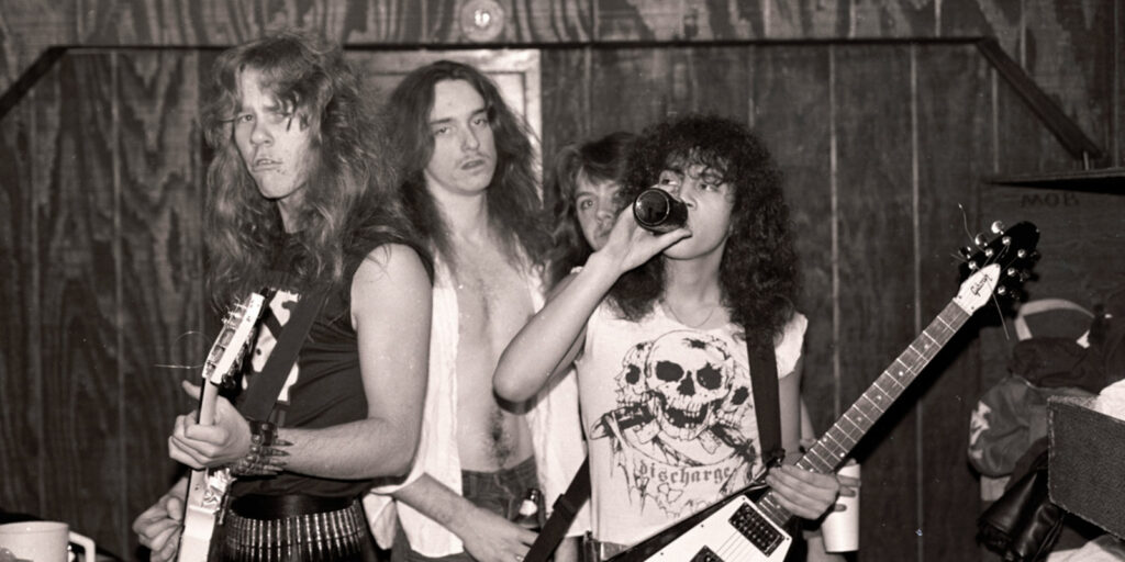 Metallica Live 1985