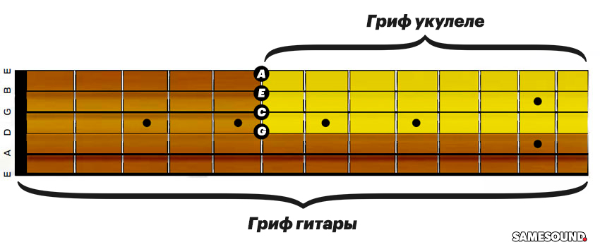 Как играть на укулеле