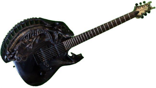 Guitar Porn: самые необычные гитары