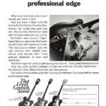 Реклама гитары Gretsch