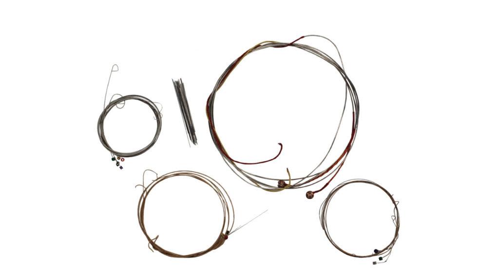 Переработка гитарных струн