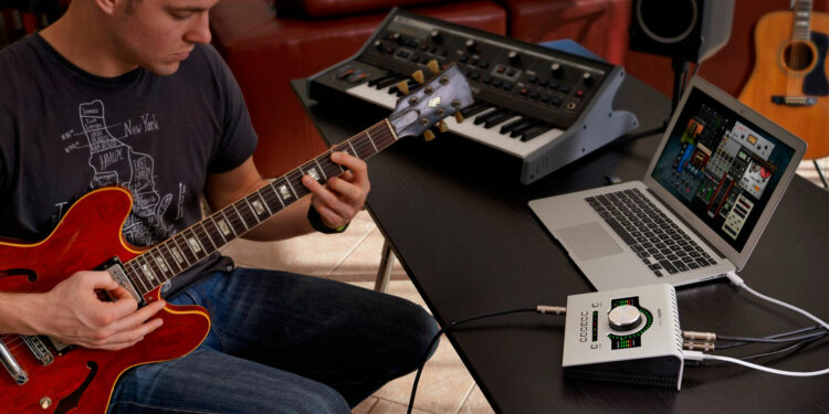 Запись электрогитары