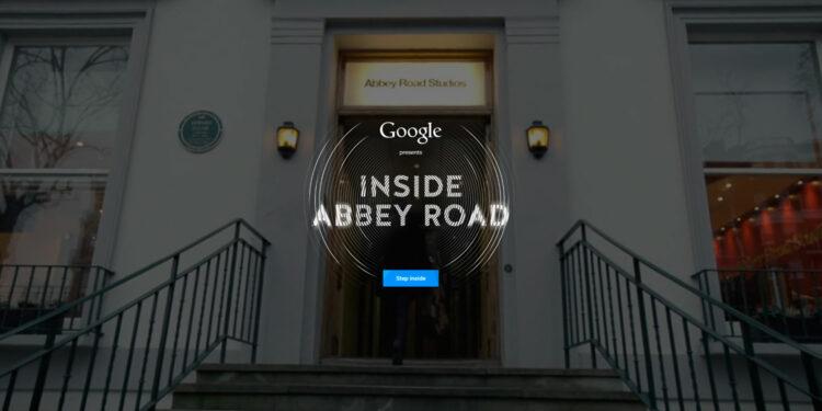 Виртуальный тур по студии Abbey Road от компании Google