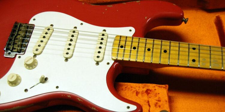 1961 fiesta red stratocaster