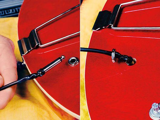 как поменять электронику на gibson es-335