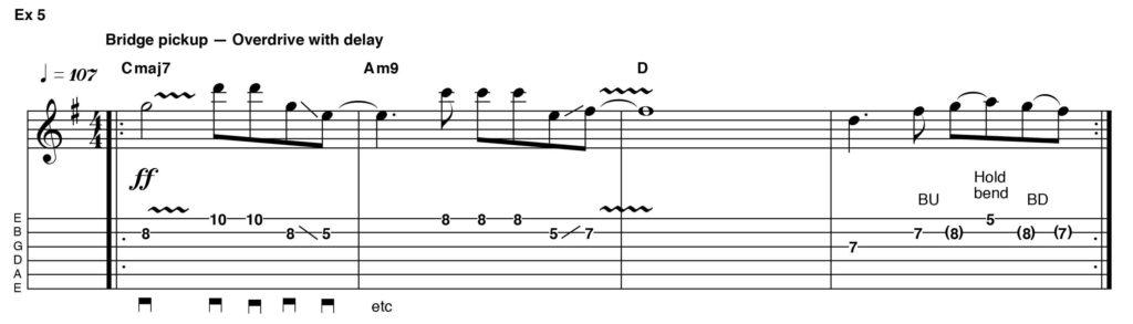 Как играть на гитаре Дэвида Боуи