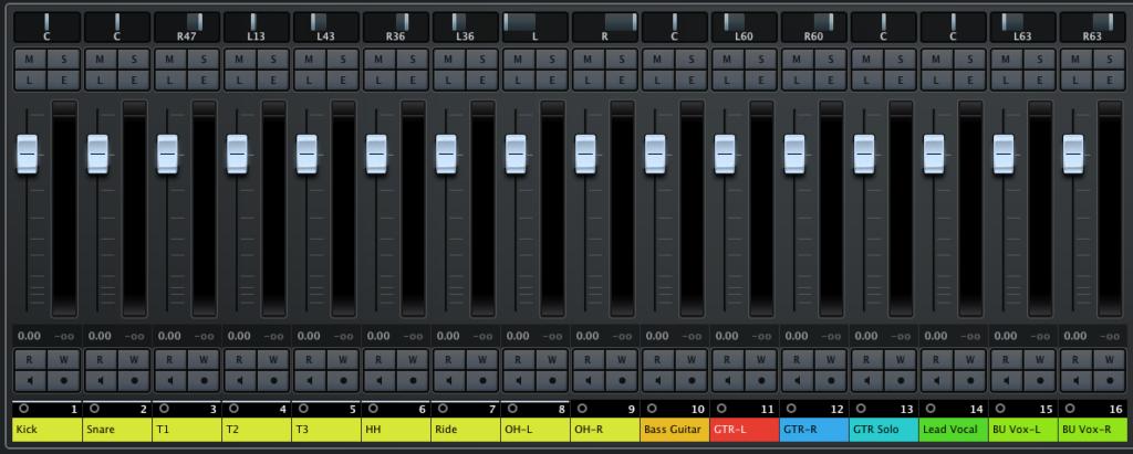 панорамирование инструментов, панорамирование музыки, панорамирование инструментов во время сведения, панорамирование при сведении