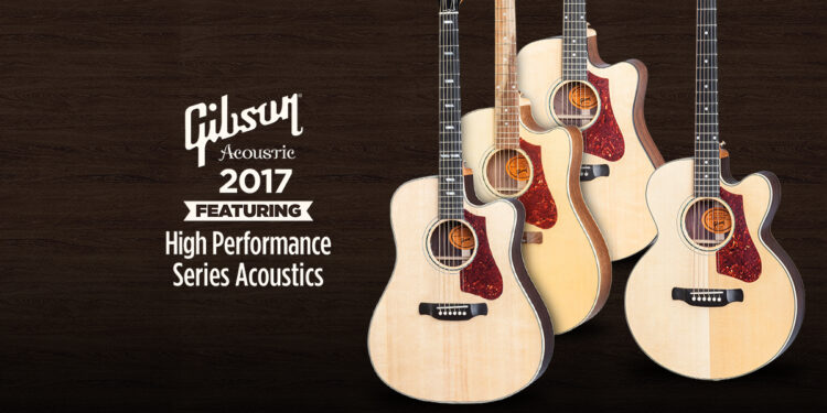 акустические гитары Gibson 2017