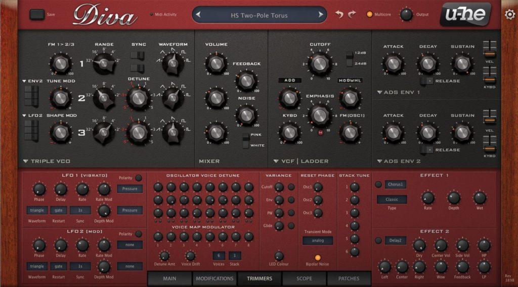 Создаем синтезаторный саунд 1980-х с помощью u-he Diva.