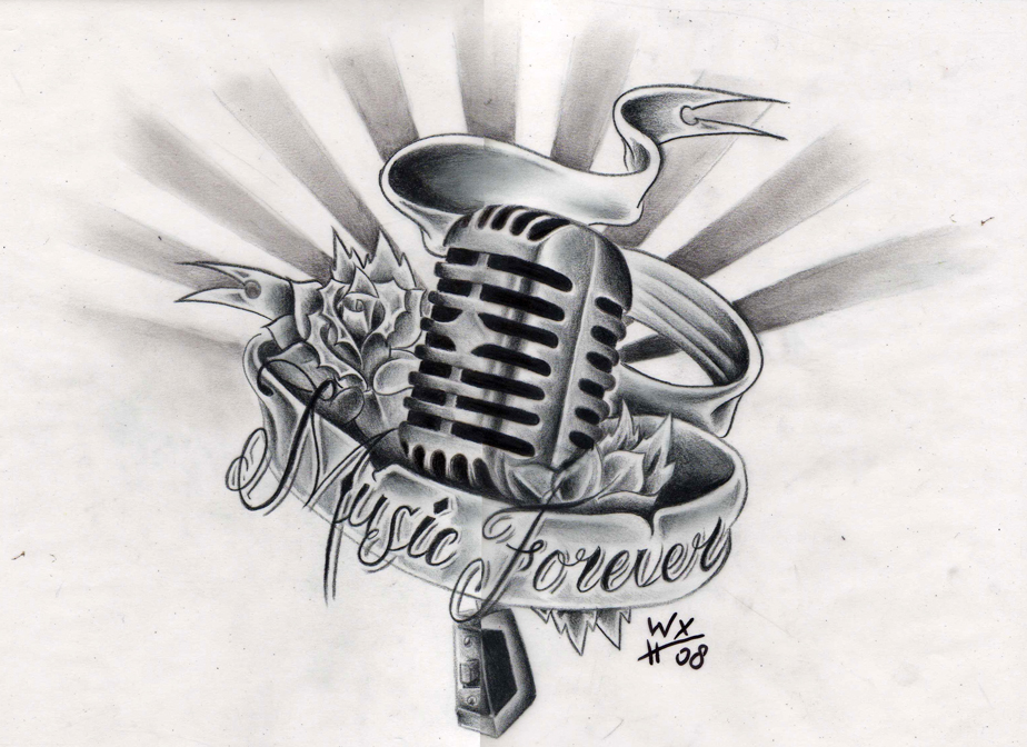 музыкальные татуировки