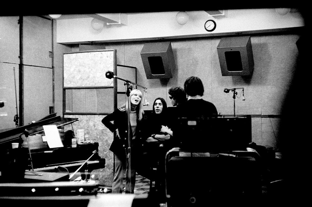 "The Velvet Underground в нью-йоркской студии Scepter Studio на записи песни ""Heroin""."