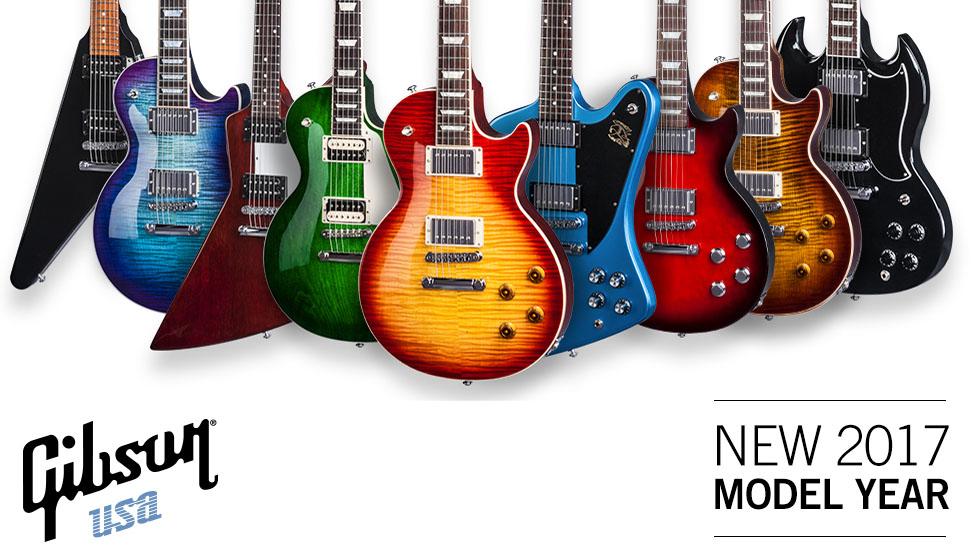 Гитары Gibson 2017 года