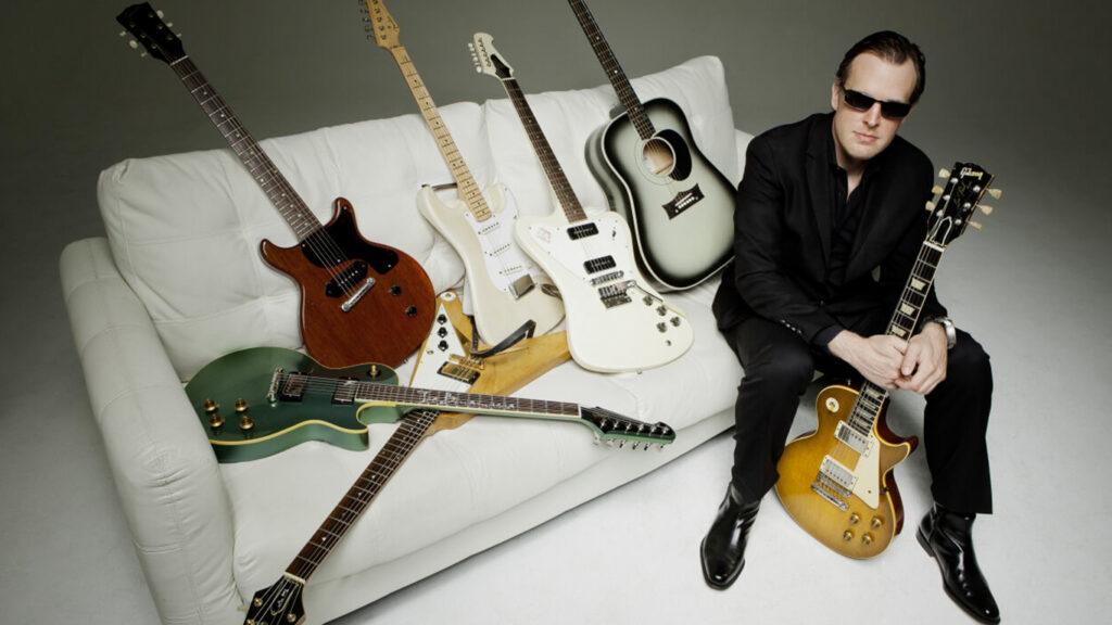 Оборудование и гитары Джо Бонамассы
