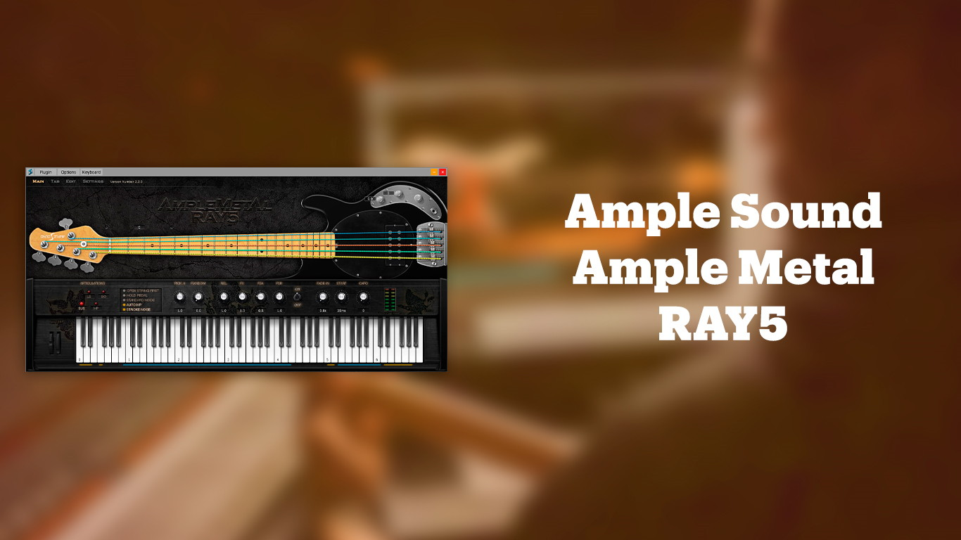 Ample Sound Ample Metal RAY 5