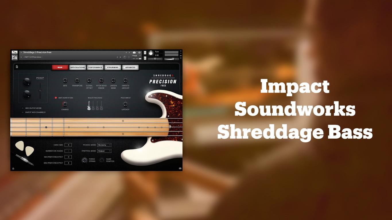 Лучшие VST бас-гитары Impact Soundworks Shreddage Bass