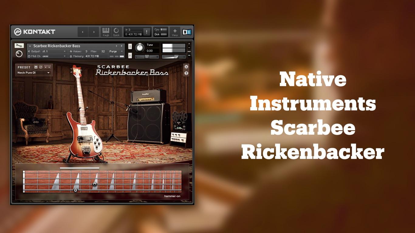 Native Instruments Scarbee Rickenbacker