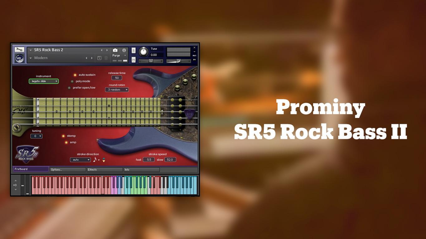 Лучшие VST бас-гитары Prominy SR5 Rock Bass II