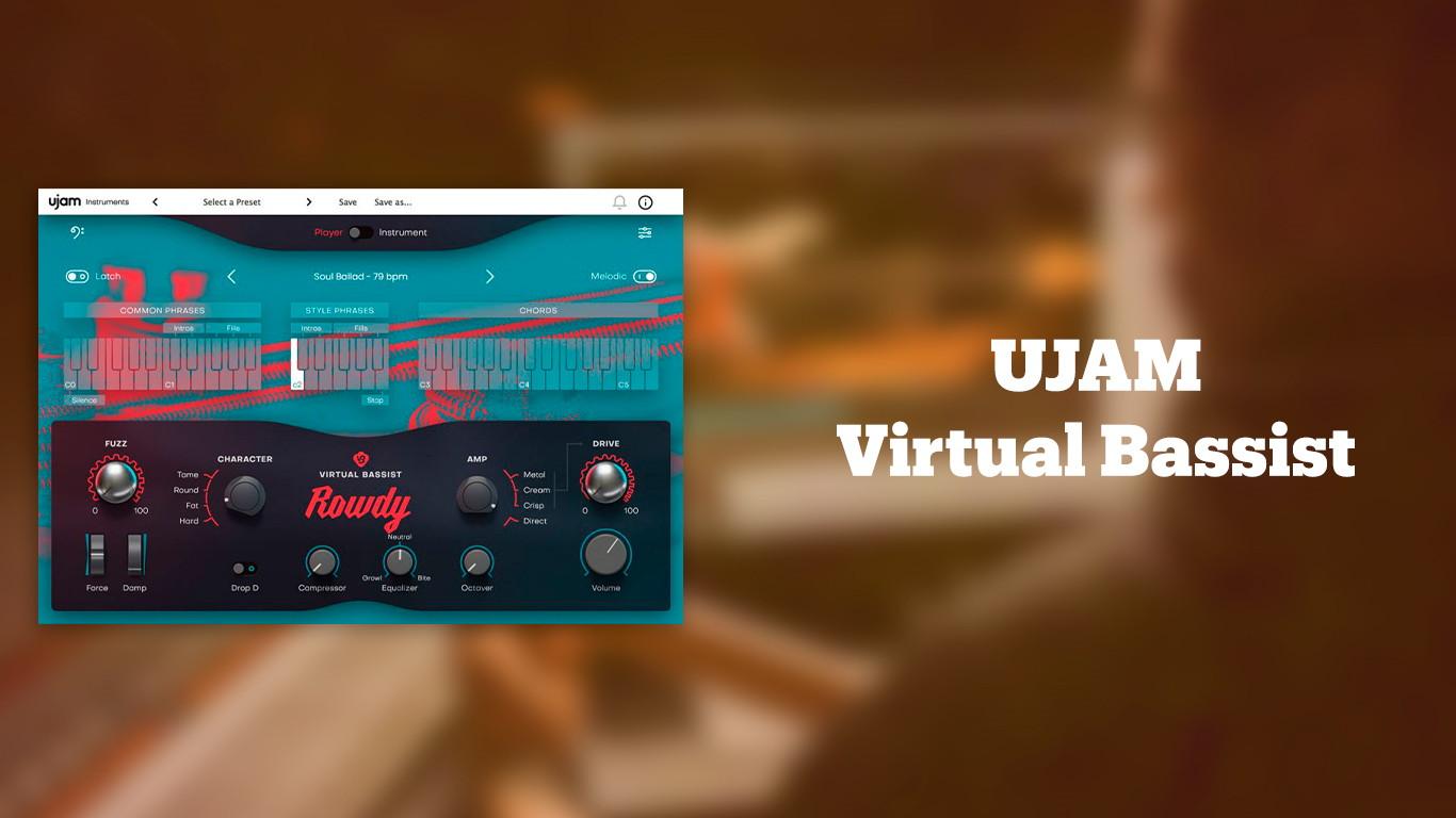 Лучшие VST бас-гитары UJAM Virtual Bassist