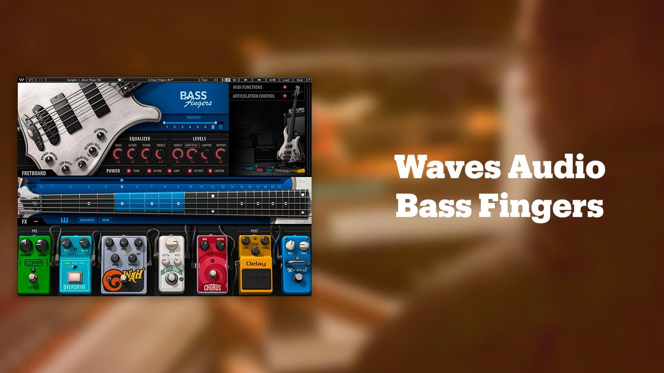 Waves Audio Bass Fingers