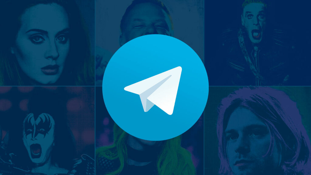 Музыкальные стикеры для Telegram от SAMESOUND.RU