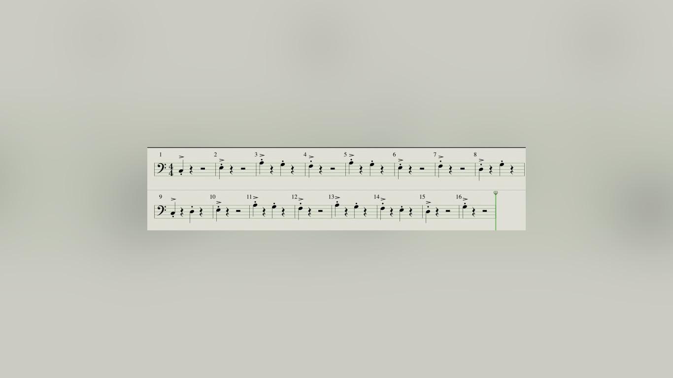 Logic Pro проставление знаков акцентирования и стаккато