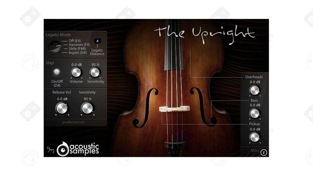 ample sound upright bass kontakt