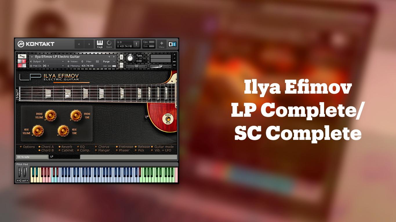 Ilya Efimov LP Complete