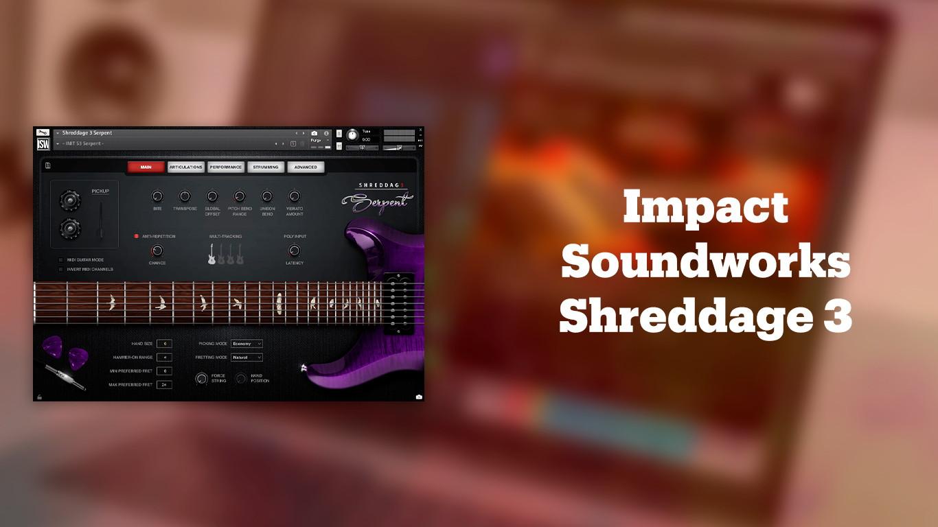 Лучшие VST-электрогитары Impact Soundworks Shreddage 3