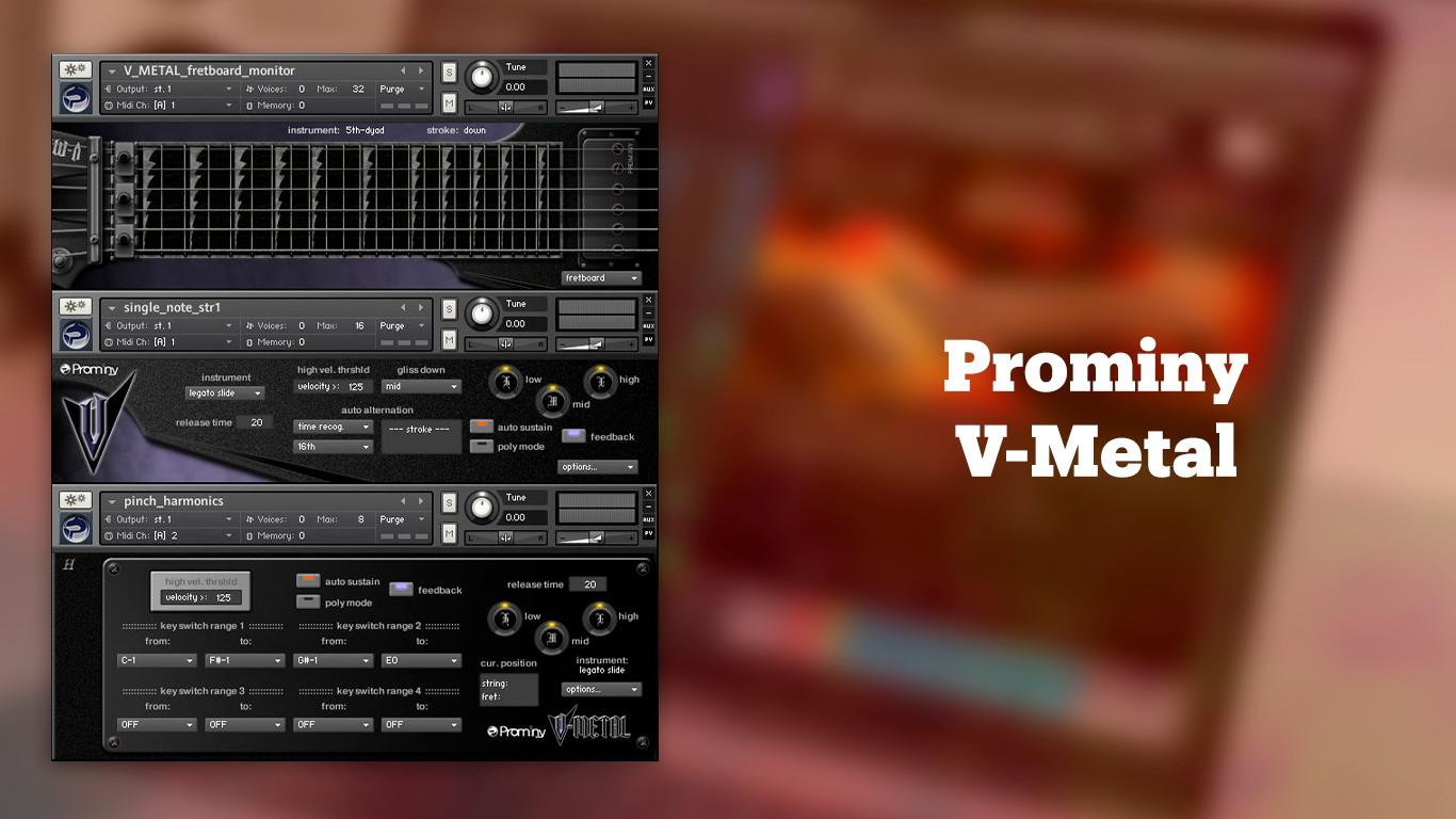 Лучшие VST-электрогитары Prominy V-Metal