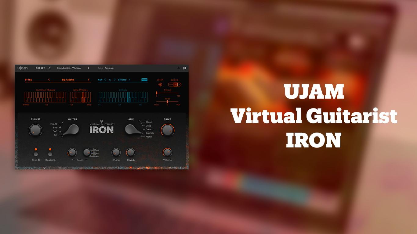 Лучшие VST-электрогитары UJAM Virtual Guitarist IRON