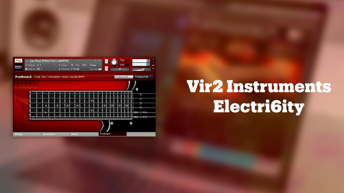 Лучшие VST-электрогитары Vir2 Electri6ity