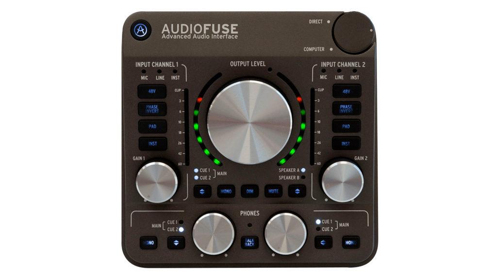 Arturia AudioFuse. Аудиоинтерфейс, звуковая карта Arturia AudioFuse