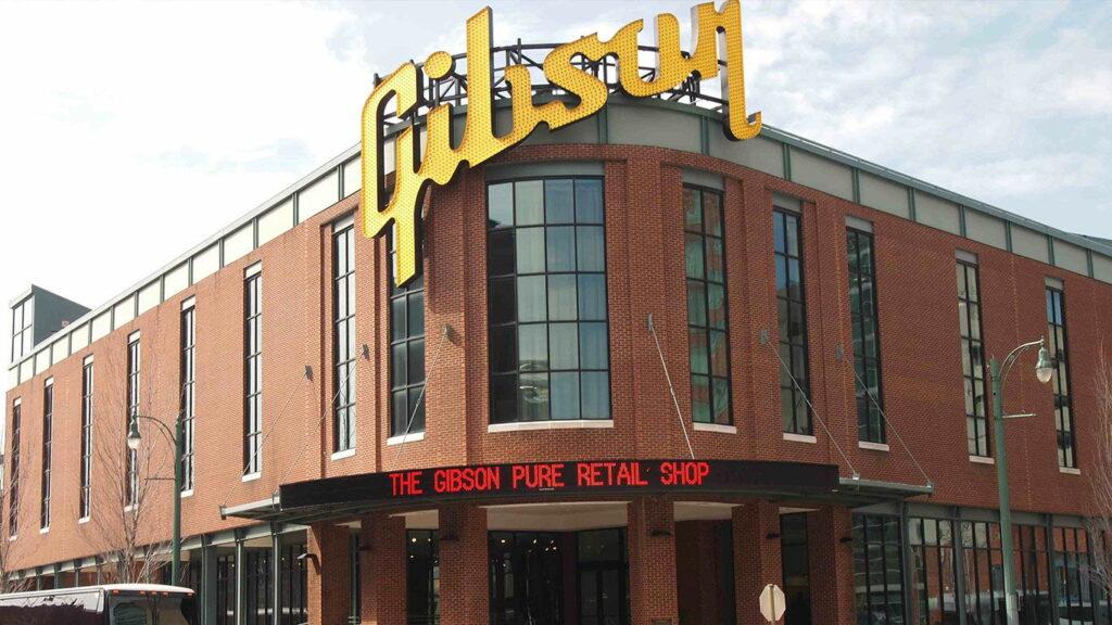 Gibson продает фабрику в Мемфисе