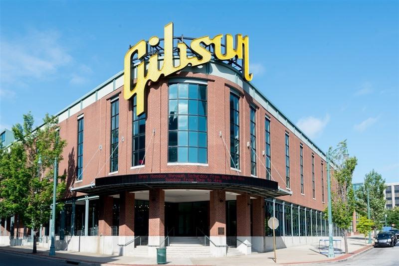 gibson продает фабрику