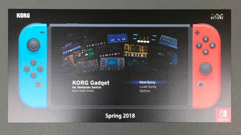 Korg Gadget для Nintendo Switch