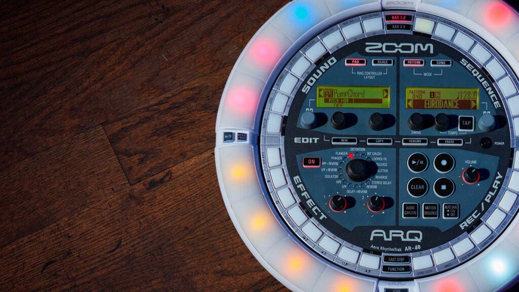 Zoom ARQ AR-48, MIDI-контроллер Zoom Aero RhythmTrack ARQ AR-48