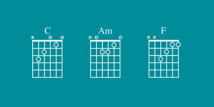 Самые популярные аккорды, самые популярные тональности
