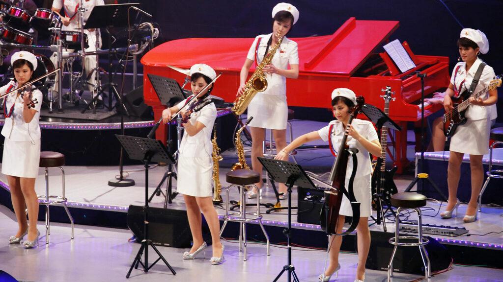 музыка северной кореи, северокорейские музыкальные группы, северокорейские музыканты, популярные северокорейские группы, популярные северокорейские музыканты, северокорейские популярные музыканты