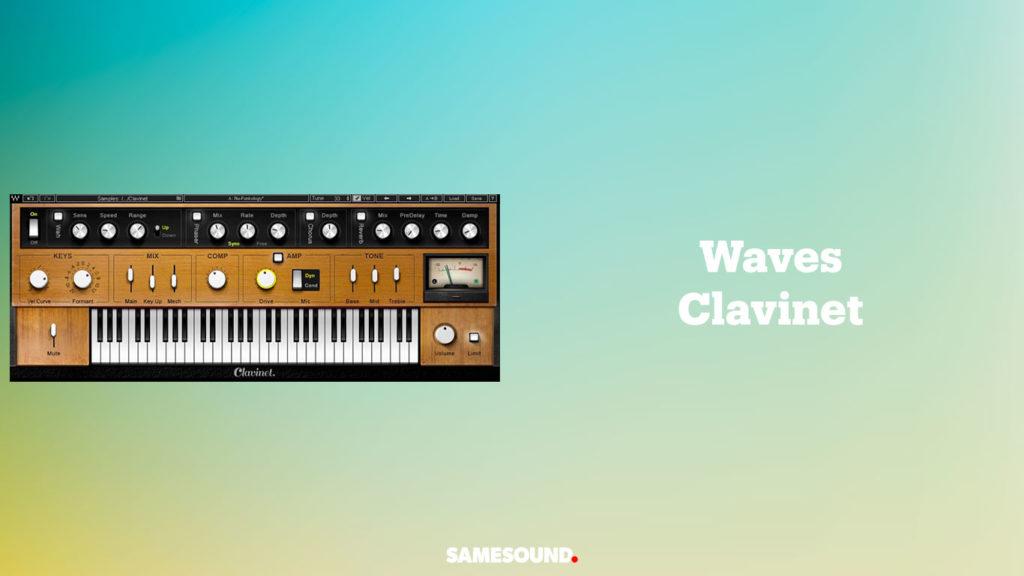 vst-плагины клавишных, vst клавинет, vst клавинет Hohner Clavinet