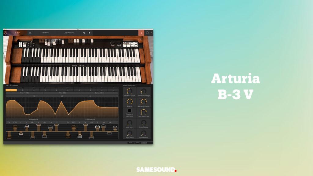 vst-плагины клавишных, vst плагин орган Хаммонда Hammond B3