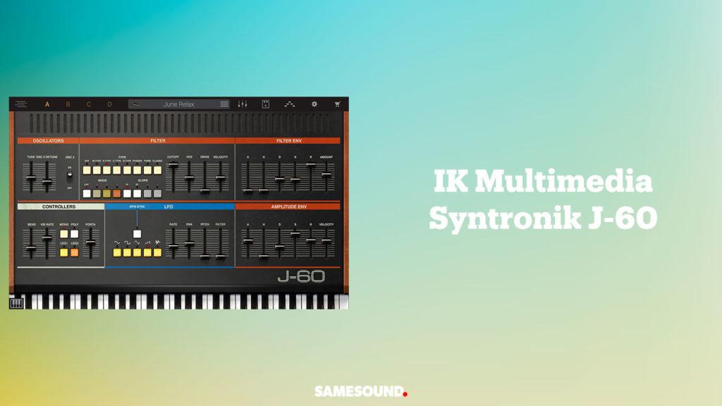 vst-плагины клавишных, vst плагин синтезатор juno 60