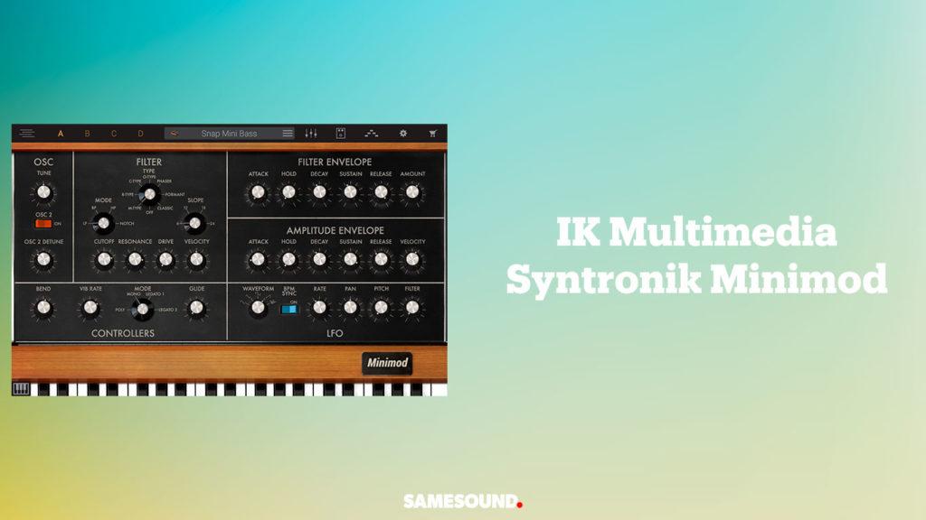 vst-плагины клавишных, vst плагин синтезатор moog minimoog