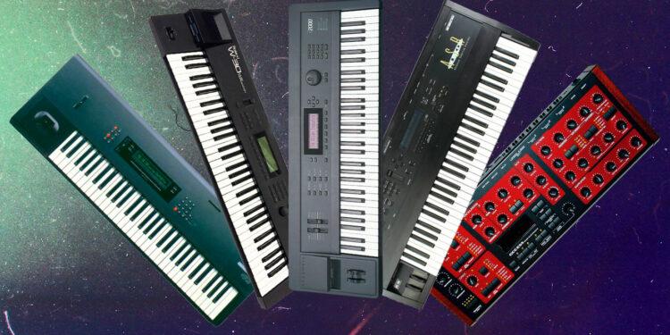 Знаменитые клавишные рабочие станции